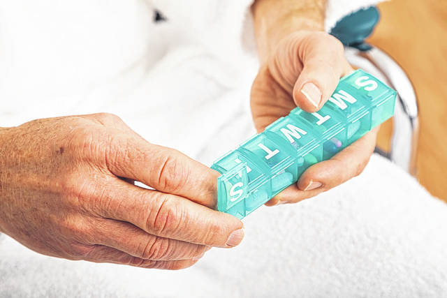 With bitter cold wind chills being forecast for the area, it's vital seniors are not only taking necessary medications as prescribed, but have an ample supply, in case they are unable to get out.
