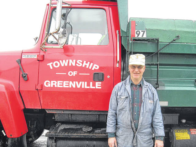 Road Superintendent Rudy Teaford is retiring from Greenville Township at the end of the month after 35 years on the job.