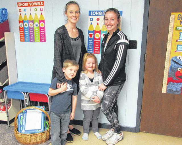 Heather Sullivan, director of the Lookout Point, Inc. Youth Center and Heather's Daycare, with her children. Those wishing to donate, volunteer, or take advantage of the Center's services can contact Sullivan at (937)423-1922 or through the Youth Center or Heather's Daycare Facebook page.