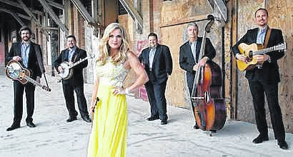 Courtesy photo Darke County Center for the Arts will present bluegrass singer, songwriter, and multi-instrumentalist Rhonda Vincent and her band The Rage at Henry St. Clair Memorial Hall in Greenville on Saturday, January 20.