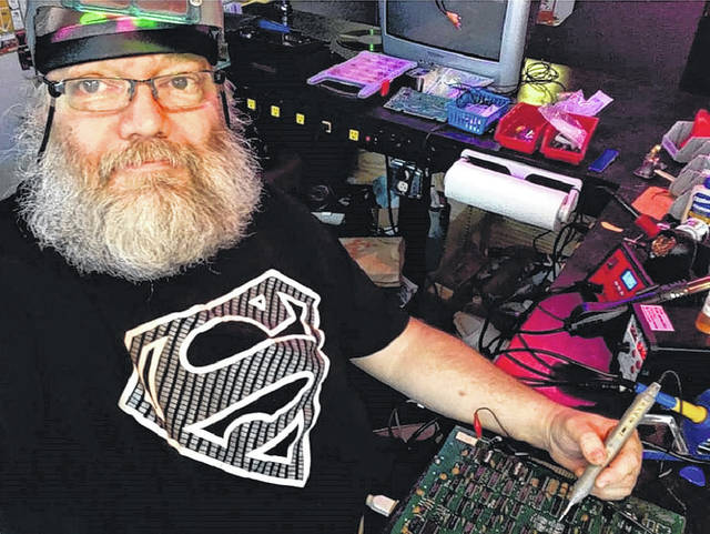 """""""I'm the last of the old technicians,"""" Doug Barger said of his repair and programming background. """"There's no more like me out there. Everybody else that's coming out in this industry is being taught differently, and doing different things. But I still have these skills, and I think they're still valuable."""""""