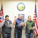 New Versailles council members take oath