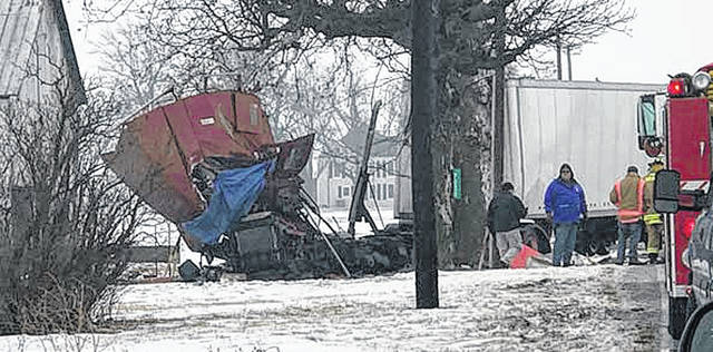 A fatality of a semi-truck driver occured Monday morning. According to WDTN, a semi driver was traveling northbound near the intersection of Friend Road and North Star Fort Loramie Road with corn feed, when the driver over-corrected and hit a tree.