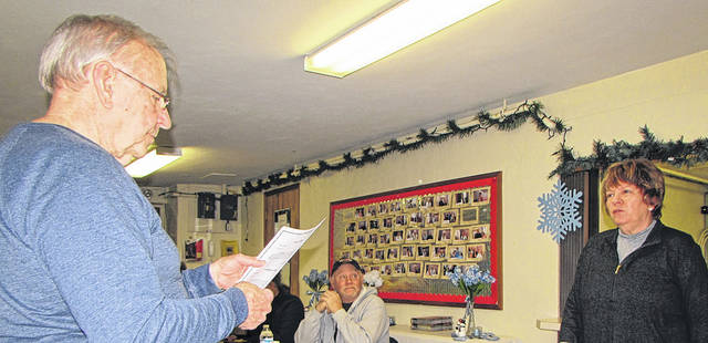 A Village of Wayne Lakes Council Meeting began with the swearing in of newly elected Mayor R. Ellen Brown, by Mayor Pro Tempore John McRoberts, Monday night.