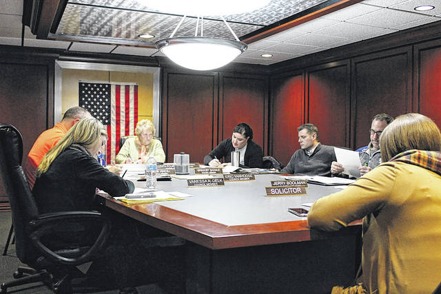 Arcanum Village Council met Tuesday night. Among the items discussed was a plan for Boy Scouts to erect a flagpole at Ivester Park for Old Fashioned Days.