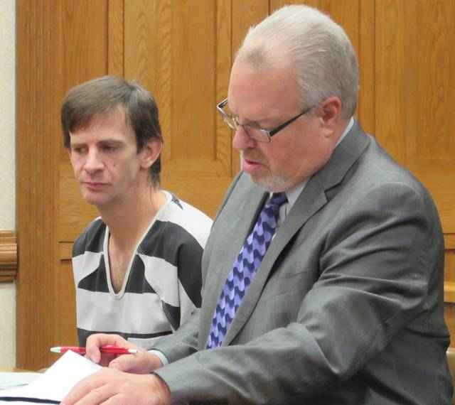 Bryan Benge was sentenced to 12 months in prison on two counts of domestic violence and one count of petty theft.
