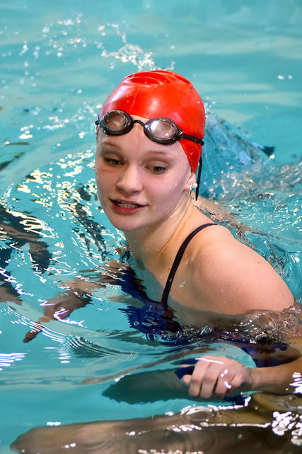 Tri-Village junior Edie Morris will compete in the girls 200 yard individual medley at the Ohio High School Athletic Association state swim meet.