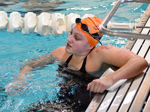 Arcanum junior Isabella Gable will compete in the girls 200 yard freestyle and 100 yard backstroke at the Ohio High School Athletic Association state swim meet.