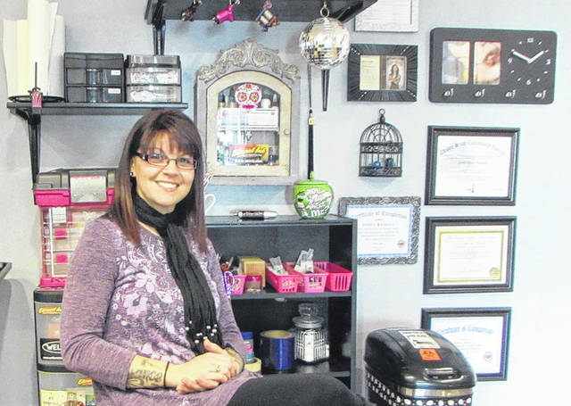 Janell Randall opened her Greenville tattoo business, Ink Well, in September.