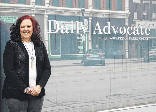 New Sales Representative Candy Helm brings decades of experience to the <em>The Daily Advocate's</em> sales team.