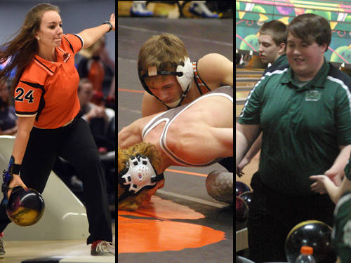 The Daily Advocate's girls bowler of the year is Versailles' Morgan Heitkamp,The Daily Advocate's wrestler of the year is Versailles' Preston Platfoot, and The Daily Advocate's boys bowler of the year is Greenville's Cullen Blinn.