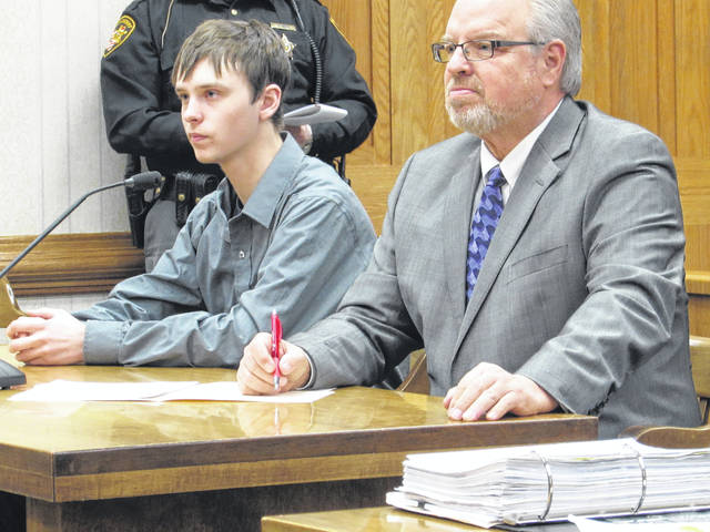Ryan Monahan, age 19, of Greenville, was sentenced on charges of aggravated assault and tampering with evidence in connection with a June 9, 2017 incident in which Monahan fired a semi-automatic .22 caliber rifle at a pick-up truck containing four other teens, striking one girl in the neck.