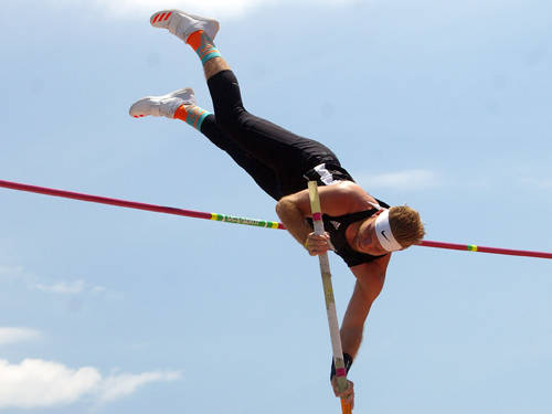 Greenville's Ryan Trick became the latest Ultimate Air pole vaulter to advance to the college ranks when he committed to Bethel College this week.