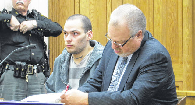Steven Ressler, age 28, of Union City, Indiana, was sentenced to 15 months in prison on charges of possession of methamphetamine, a fifth-degree felony. Ressler's prior criminal history includes charges of felonious assault, domestic battery, assault with a bodily substance, theft, and attempted burglary.