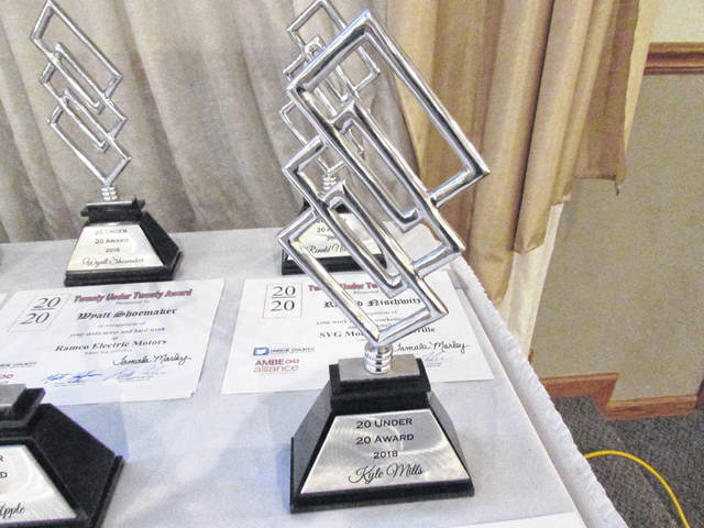 Eight students from Darke County were honored at the third annual 20 Under 20 Awards.