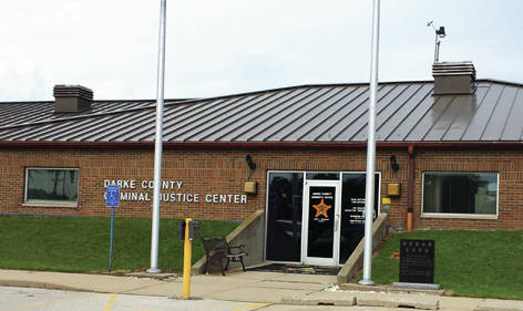 Courtesy photo Chief Deputy Mark Whittaker of the Darke County Sheriff's Office said the Darke County Jail was closed Wednesday the ventilation system was contaminated with methamphetamine powder causing several Deputies and Correction Officers to become ill and be transported to Wayne HealthCare.