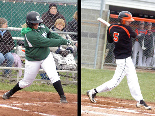 Greenville softball player Sydney Grote and Bradford baseball player Andy Branson have been named this week's Daily Advocate athletes of the week. To nominate a Darke County athlete for athlete of the week, contact Sports Editor Kyle Shaner at 937-569-4316 or kshaner@dailyadvocate.com.