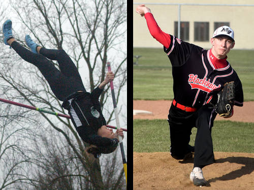 Greenville girls track and field athlete Riley Hunt and Mississinawa Valley baseball player Matt Slob have been named this week's Daily Advocate athletes of the week. To nominate a Darke County athlete for athlete of the week, contact Sports Editor Kyle Shaner at 937-569-4316 or kshaner@dailyadvocate.com.