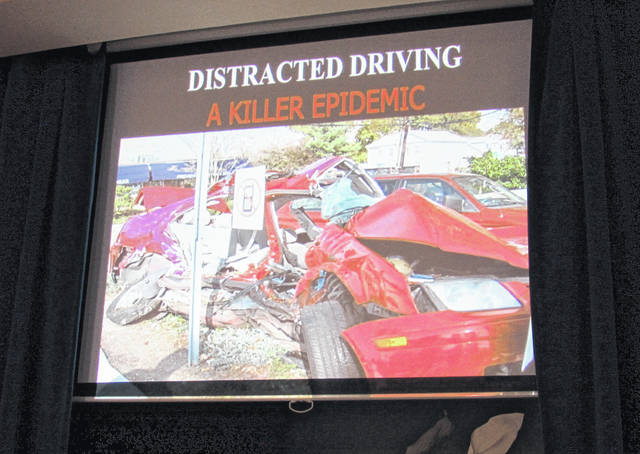Debbie Wanninkhof came to St. John Lutheran Church last week to speak about the dangers of texting and driving. Debbie's son, Patrick, was only 25 years old when he was struck and killed by a woman who was texting while driving.