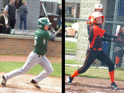 Greenville baseball player Tyler Beyke and Arcanum softball player Elle Siculan have been named this week's Daily Advocate athletes of the week. To nominate a Darke County athlete for athlete of the week, contact Sports Editor Kyle Shaner at 937-569-4312 or kshaner@dailyadvocate.com.