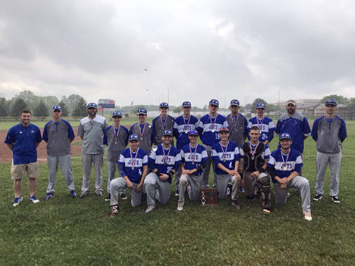 The Franklin Monroe baseball team ended its season as an Ohio High School Athletic Association district tournament runner-up.