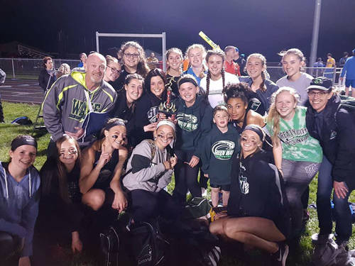 The Greenville girls track and field team won the Laker Invitational on Friday at Indian Lake.