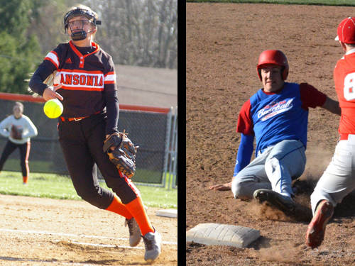 Ansonia softball player Trinity Henderson and Tri-Village baseball player Jared Buckley have been named this week's Daily Advocate athletes of the week. To nominate a Darke County athlete for athlete of the week, contact Sports Editor Kyle Shaner at 937-569-4316 or kshaner@dailyadvocate.com.