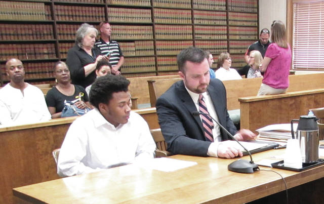 Ishmael Luster, age 16, pleaded guilty to charges of aggravated robbery, a first-degree felony, in Darke County Common Pleas Court Tuesday morning, less than two hours after a jury was empaneled to hear evidence in his scheduled trial.