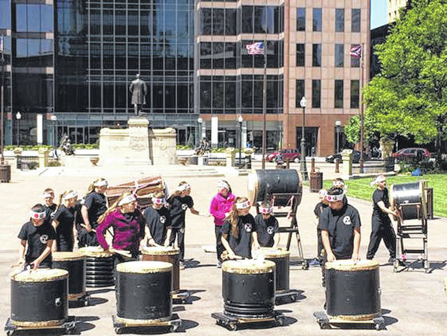 The Kuroi Taka Taiko Drummers will perform this Friday at the Taste of the Arts event. They will play traditional Japanese pieces while dressed in traditional Japanese costumes.