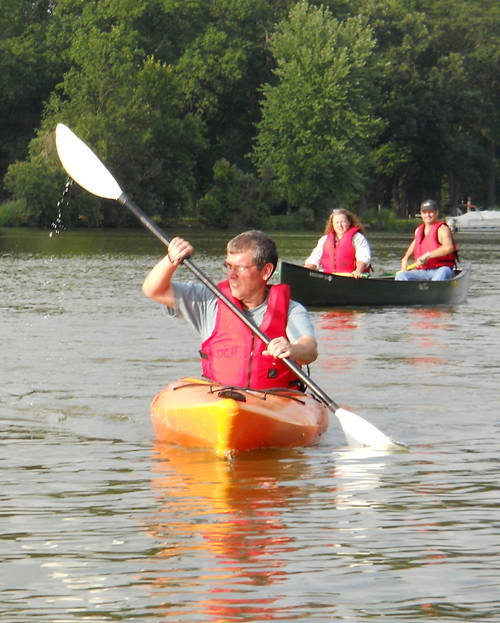Darke County Parks is offering a free program for community members to try kayaking.