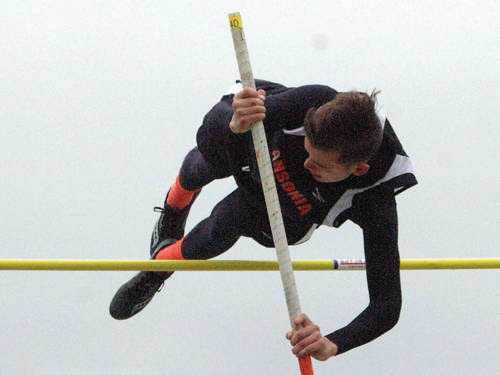 Ansonia's Matthew Shook will compete in the Division III boys pole vault during the Ohio High School Athletic Association state track and field meet.