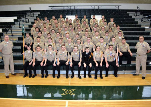 The Green Wave Navy held its first awards ceremony.