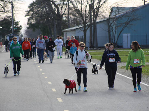 The Darke County Friends of the Shelter held its fifth annual Scentral Park 5K on April 21.