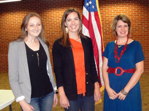 Jena Powell was the featured speaker at the Greenville Business & Professional Women's Club's June meeting.