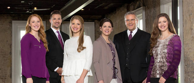 The Darke County Pregnancy Help Center will bring the Collingsworth Family back to Greenville to perform in November.