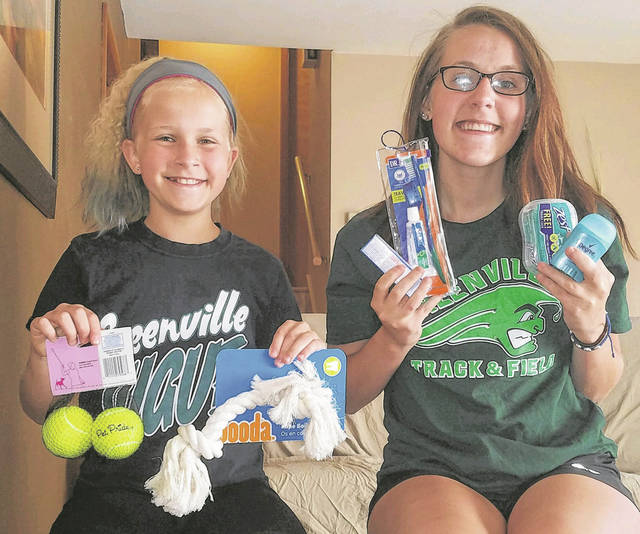 Greenville High School senior Rachel Unger and her younger sister, Bridget, started Comforting Comforters in winter of 2018.
