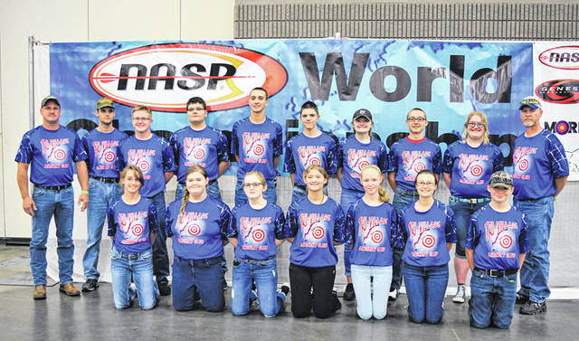 The Tri-Village High School Archery Club finished 65th out of 88 teams in the National Archery in Schools Program World Tournament held June 7 to 9 in Louisville, Kentucky.