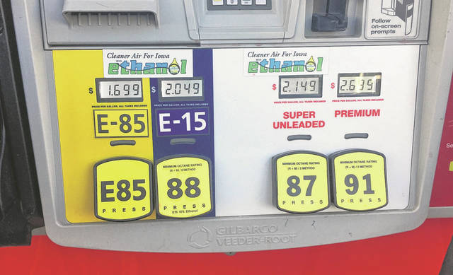 Elected officials throughout Ohio, including Greenville Mayor Steve Willman, have signed a petition asking the EPA to allow summer sales of E15 biofuel.
