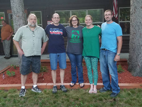 Friends of Wayne Lakes held its inaugural meeting on Wednesday. Pictured (l-r) are Friends of Wayne Lakes President Adam Wicker, Vice-President George Mittermann, Secretary-Treasurer Angie Wicker, Director Sherrie Siegler and Director Tom Wetzel.