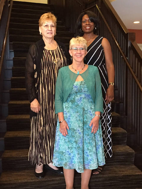 Gail Snyder of Greenville was elected vice president of the Ohio Business and Professional Women's Foundation. Pictured (l-r) are Ohio BPW Vice President Gail Snyder, Eaton BPW member and Region 5 President-Elect Lucinda Covney and Cincinnati BPW President Ursula Bess.