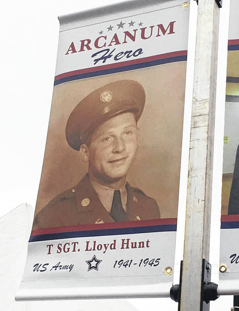 Arcanum residents will see banners featuring local military veterans beginning in August. Arcanum Village Council during its Tuesday meeting approved placement of the banners.
