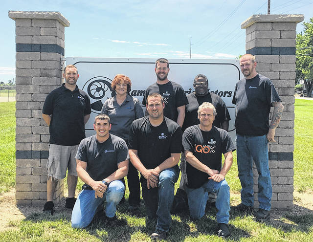 Ramco recently partnered with Edison State Community College for team leader training. Pictured (front row, l-r) are Steve Wike, Jason Hemmerich, Troy Stewart, (back row, l-r) Bryan Tippett, Peggy Wiggins of Edison, Jason Netzley, Damon Miller and Keith Bragg.