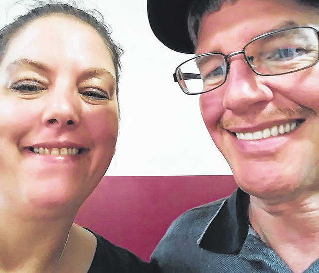 Members of local nonprofit Heart in the Darke hosted a benefit at BMI Speedway for Arcanum residents Kevin and Sherri Judy (pictured) this weekend. Kevin Judy learned he would have to undergo heart surgery earlier this year.