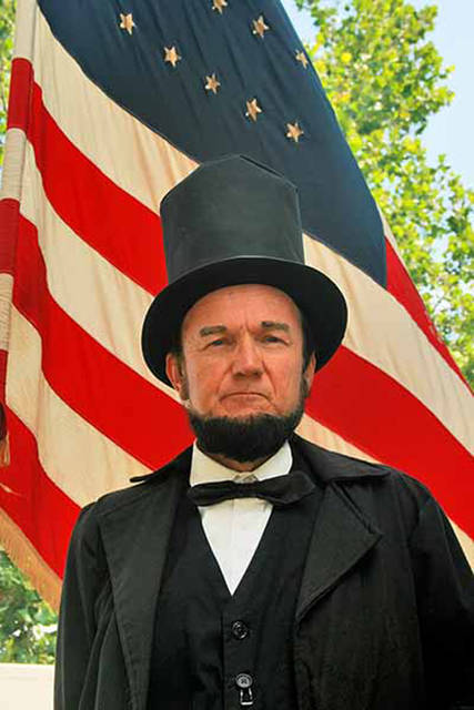 Abraham Lincoln impersonator John Cooper will return to Greenville on July 13.