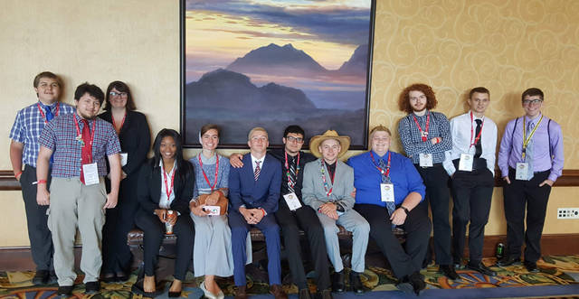 Miami Valley Career Technology Center had 13 students qualify to compete in the National Leadership Conference of Business Professionals of America.