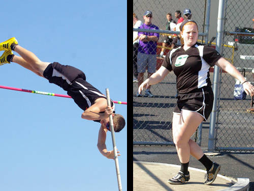 Ansonia boys track and field athlete Brock Shellhaas and Greenville girls track and field athlete Sierra Cress have been named this week's Daily Advocate athletes of the week. To nominate a Darke County athlete for athlete of the week, contact Sports Editor Kyle Shaner at 937-569-4312 or kshaner@dailyadvocate.com.