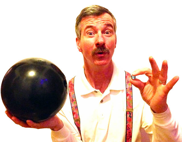 """Tom Sparough """"The Space Painter"""" will perform at the Greenville Public Library's Family Fun Day at 11 a.m. June 27"""