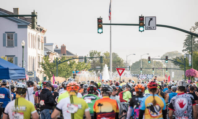The Tour de Donut will start and end around the square of historic downtown Troy on Aug. 25.