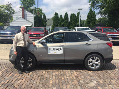 Jim Troutwine of Troutwine Auto Sales is a sponsor of the 37th annual Annie Oakley Golf Tournament.