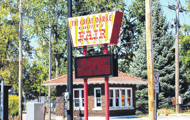 The Darke County Fair Board discussed veterans, rules regarding all-terrain vehicle use and the purchase of a new sign at its second meeting of the summer season Wednesday night.